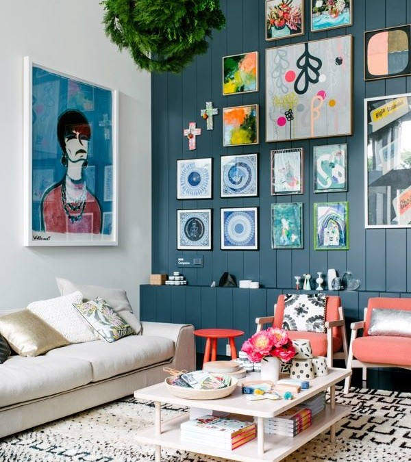 How to Hang Art (stylishly that is)